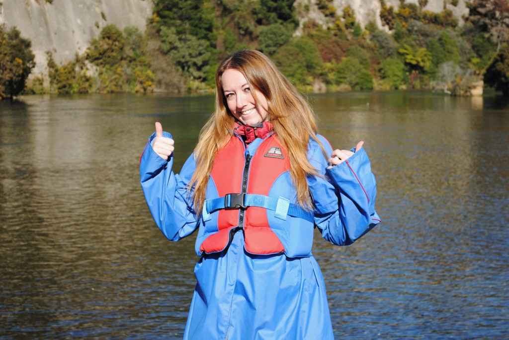 Huka Falls Jet - hot jacket