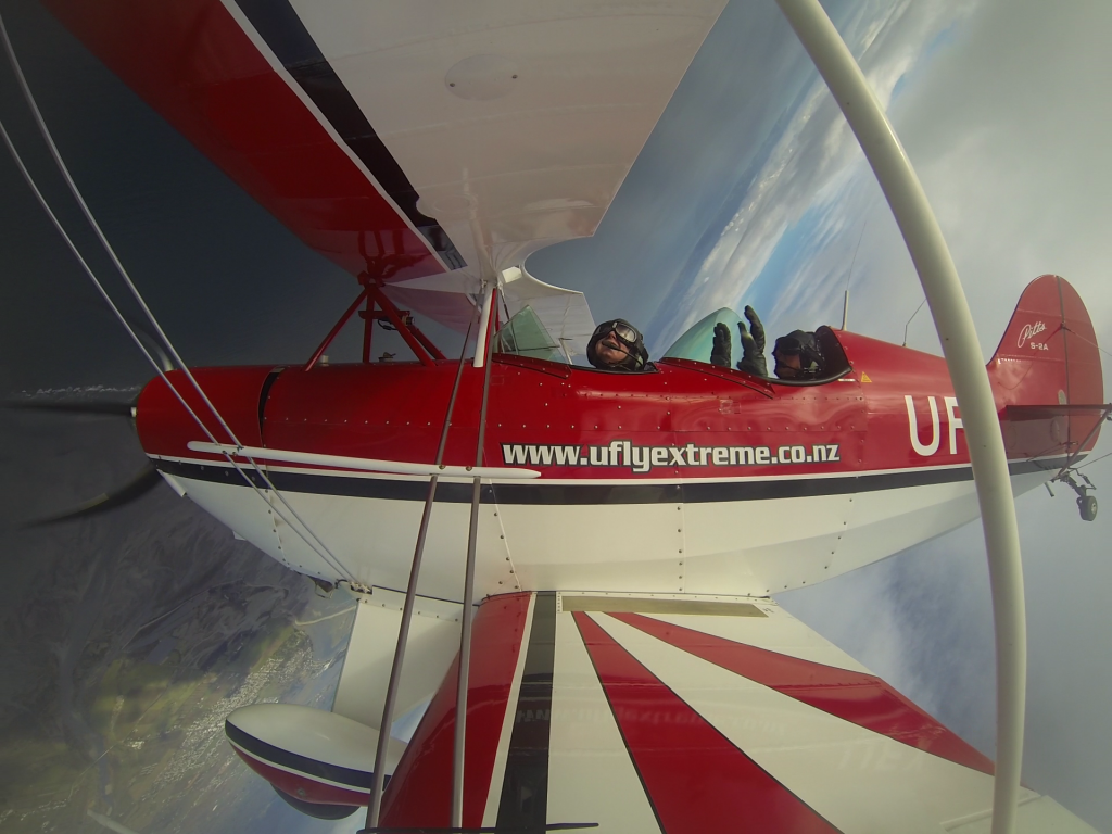 Pilot a Stunt Plane in Abel Tasman - and we're rolling!