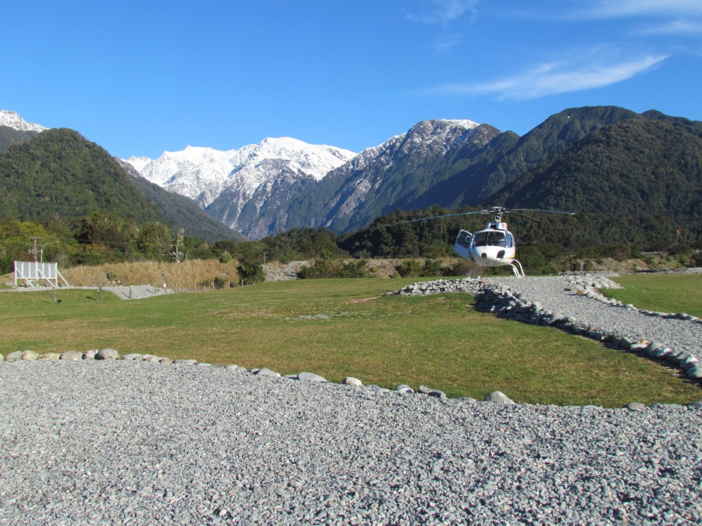 Scenic Flight Over Franz Josef Glacier - launch pad