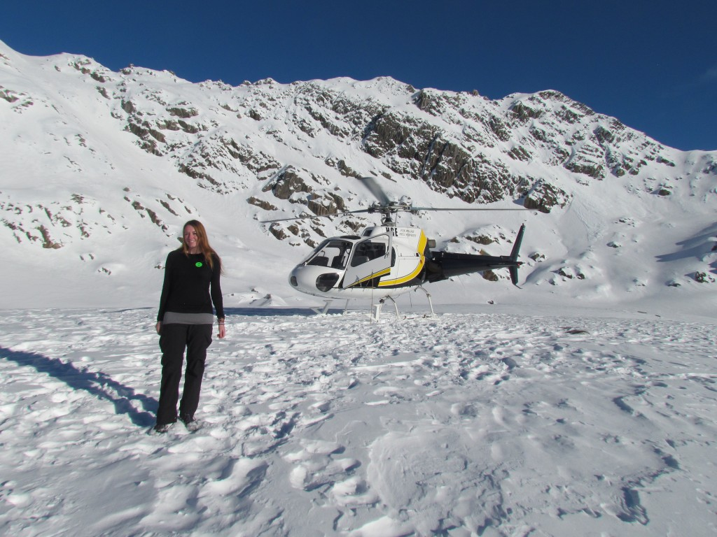 Scenic Flight Over Franz Josef Glacier - the helicopter