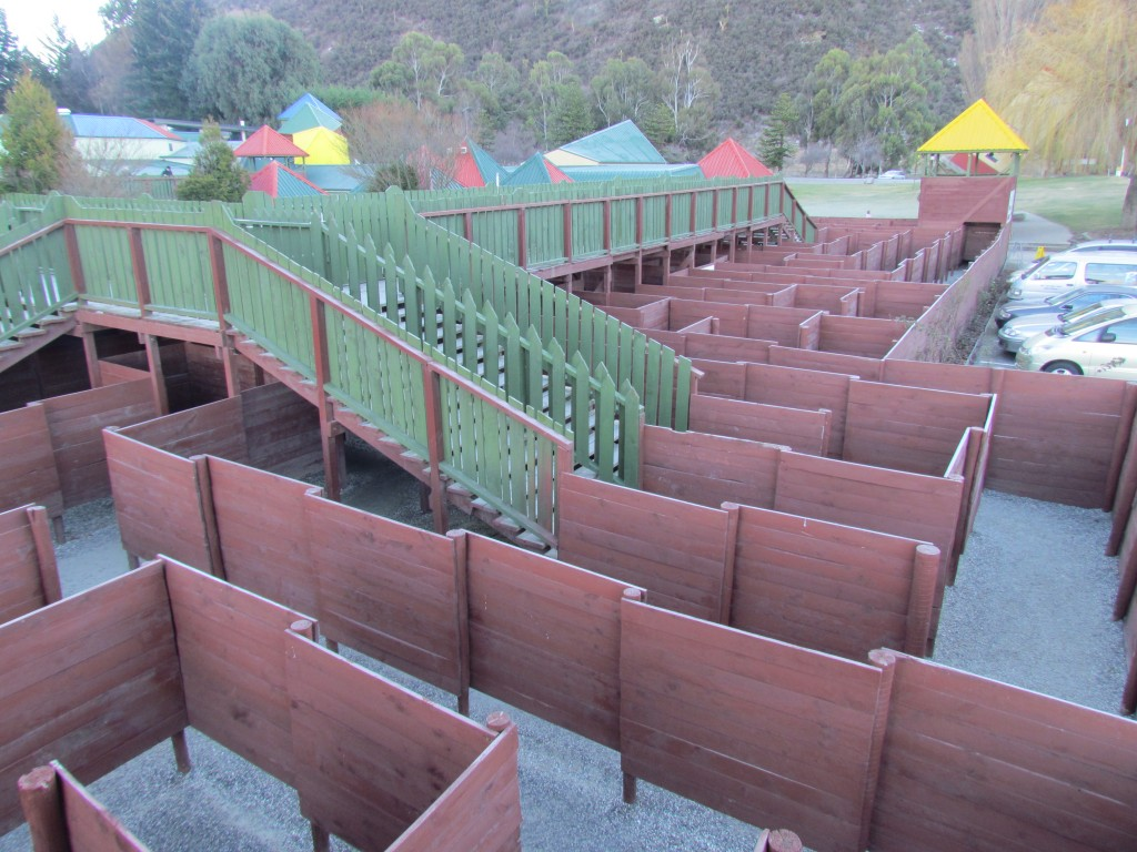 Stuart Landsborough's Puzzling World - the maze