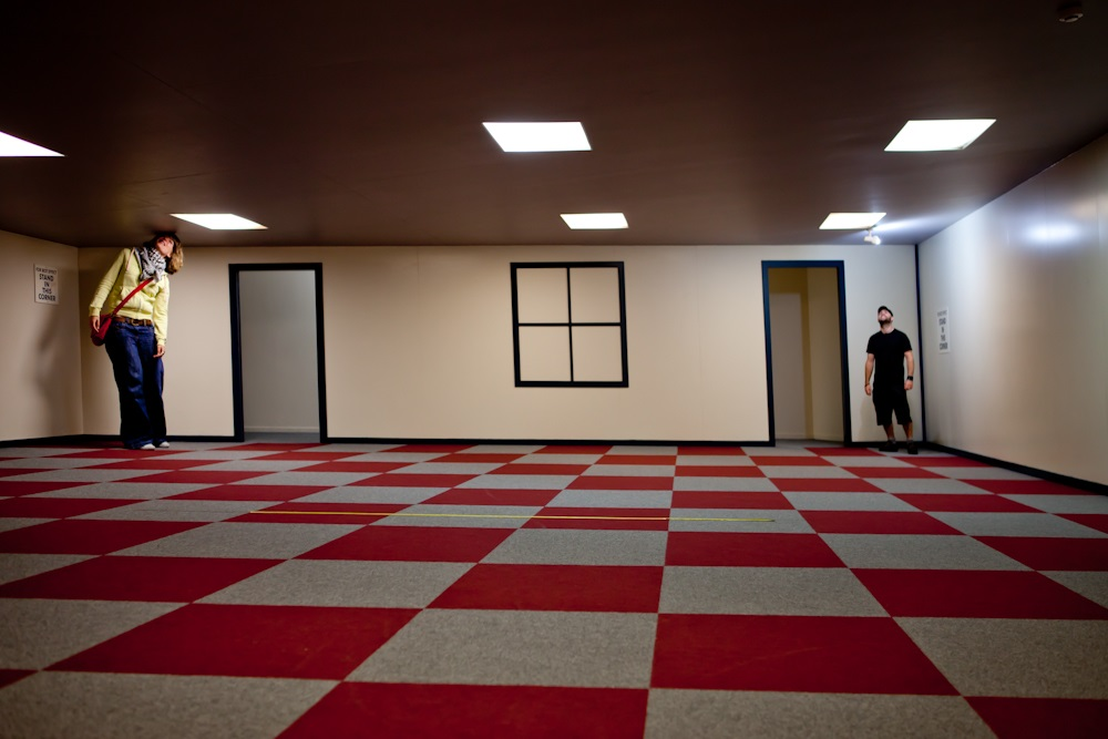 Stuart Landsborough's Puzzling World - Ames room