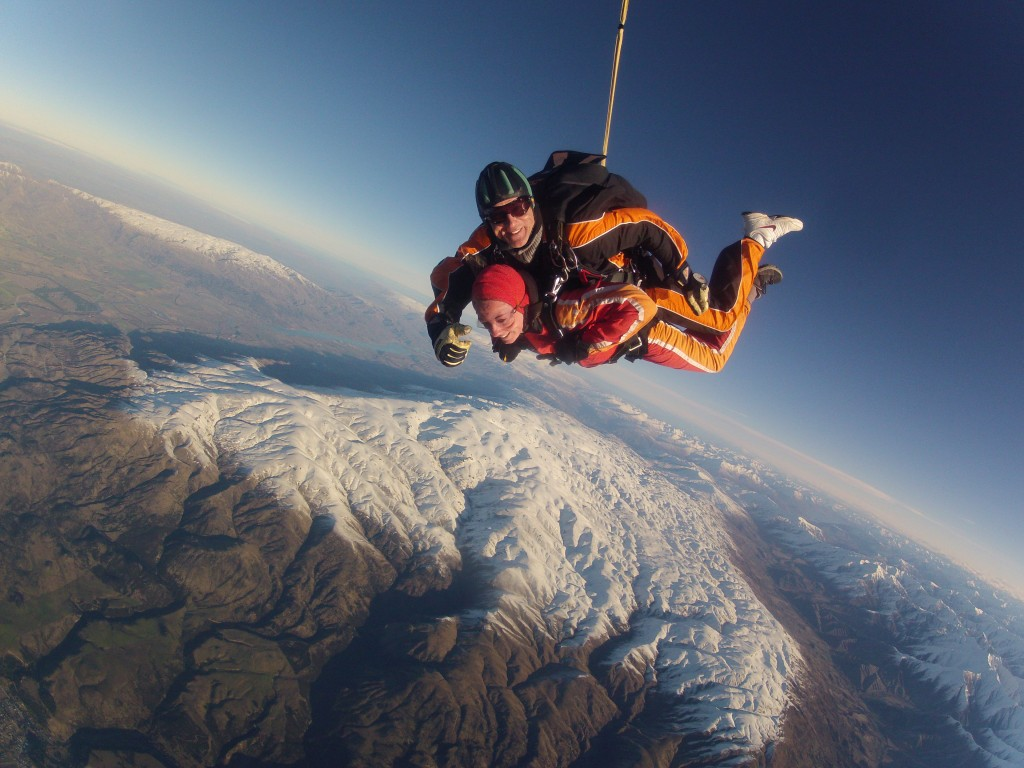 skydive or bungee jump - fall 2