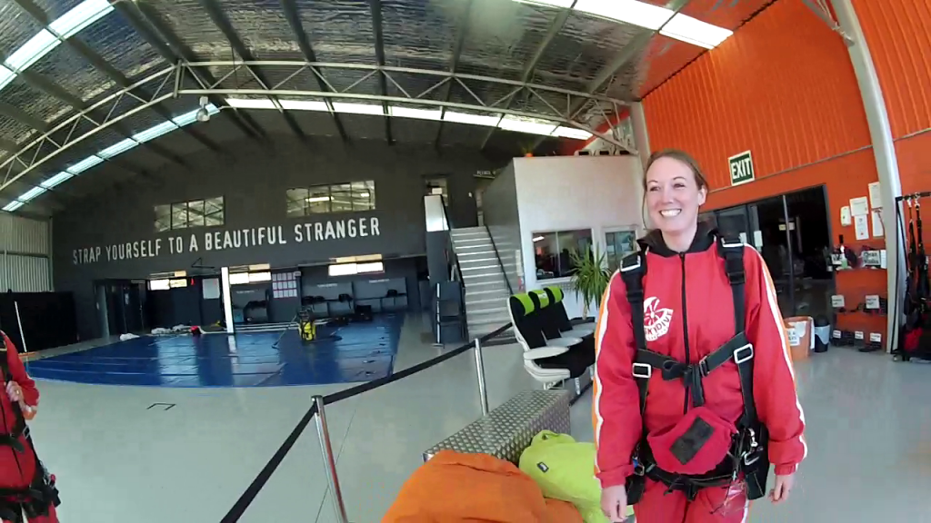 skydive or bungee jump - interview