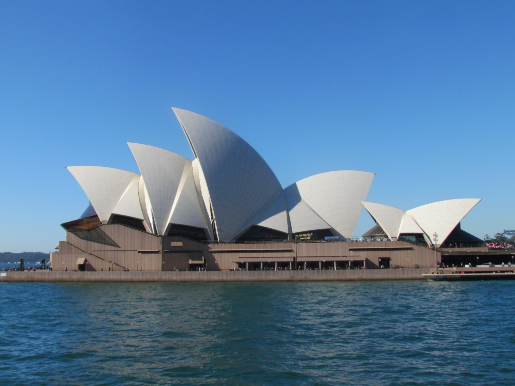 Australia on a Working Holiday Visa - Opera House
