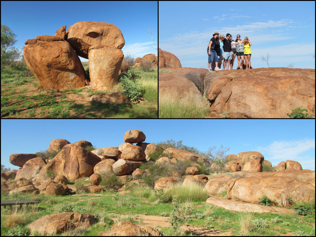 Rest Areas in Northern Territory - Devil's Marbles