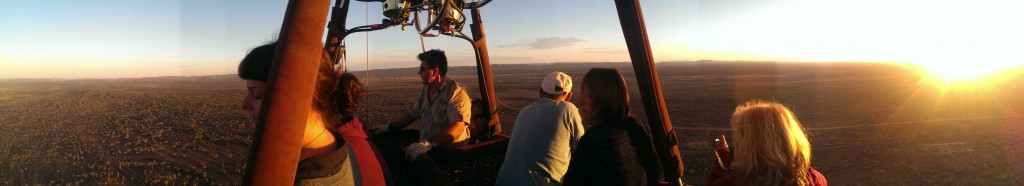 Outback Ballooning in Alice Springs - panorama