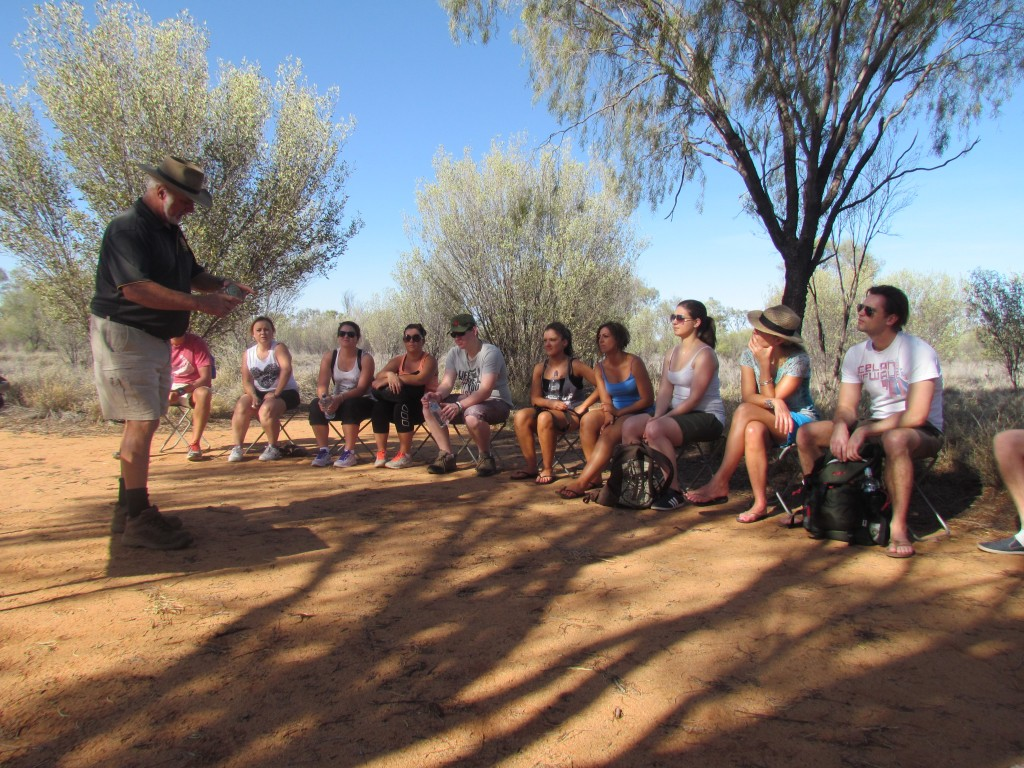 Aboriginal Bush Tucker - food tasting