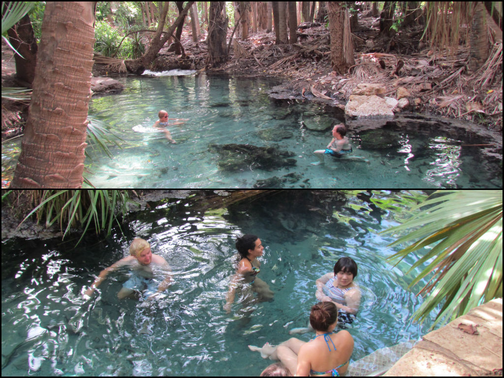 Rest Areas in Northern Territory - Thermal Pools
