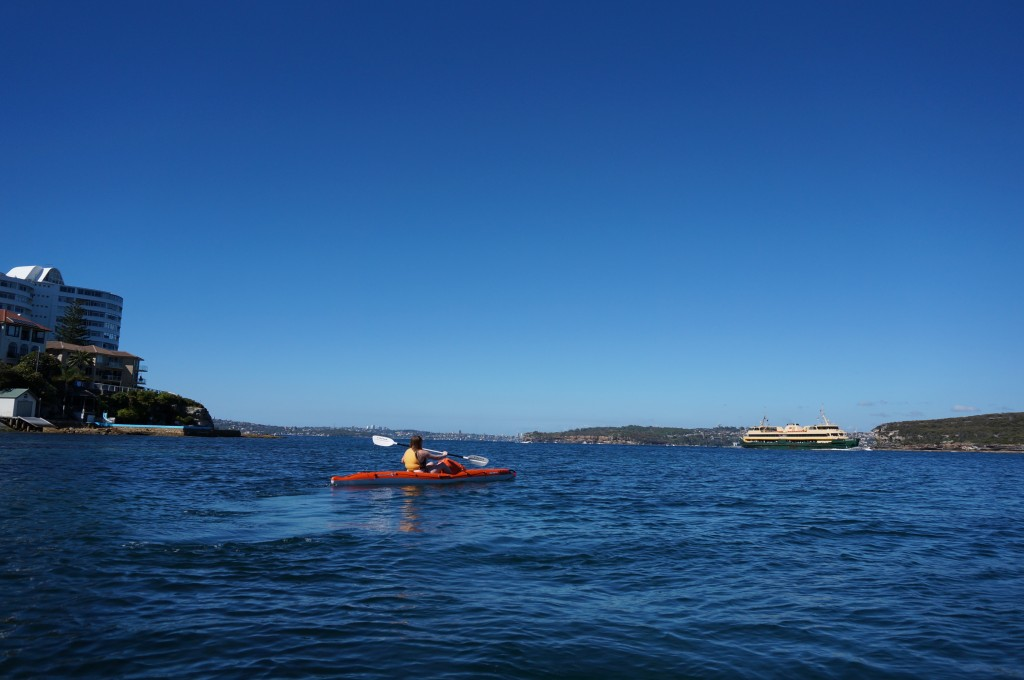 Manly Kayak Centre - Scary Ferry