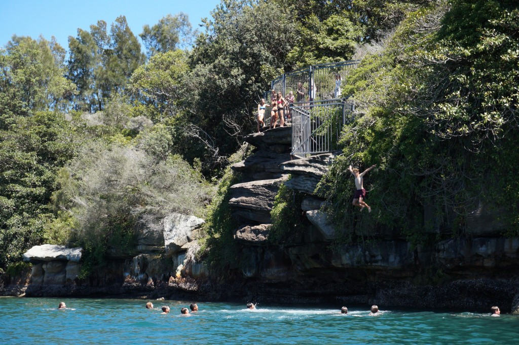 Manly Kayak Centre - Manly Rock Jump