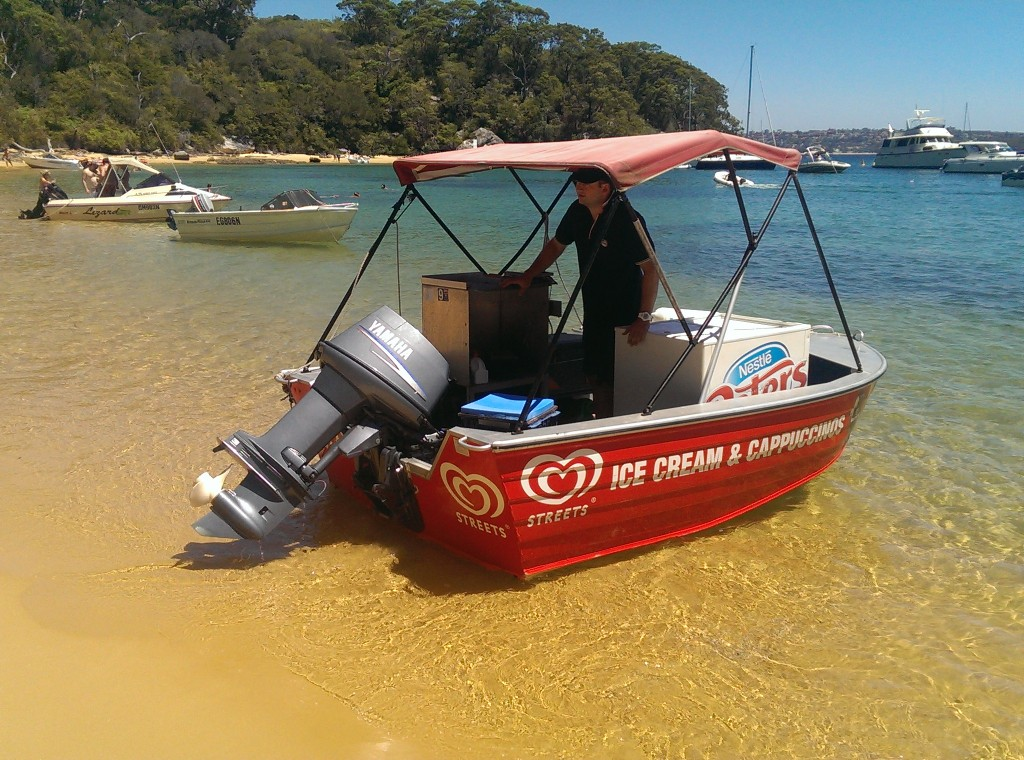 Manly Kayak Centre - Ice Cream Boat