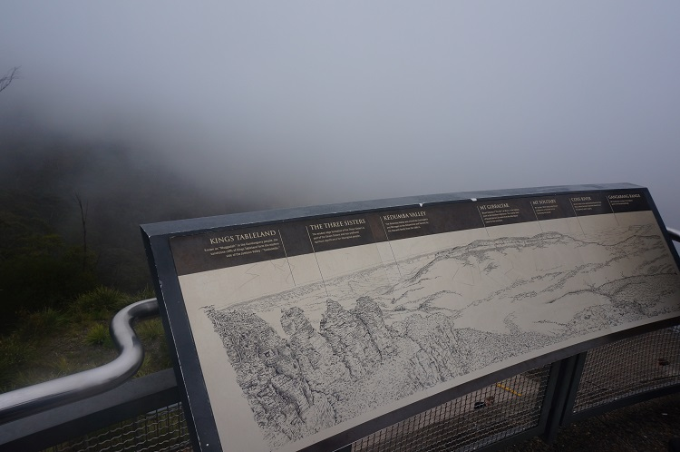 Blue Mountains - Three Sisters in Mist