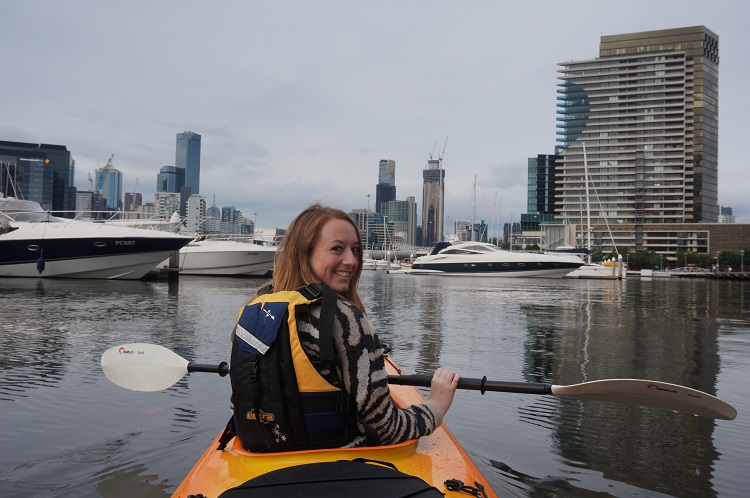 Melbourne Kayak Tours - The Marina