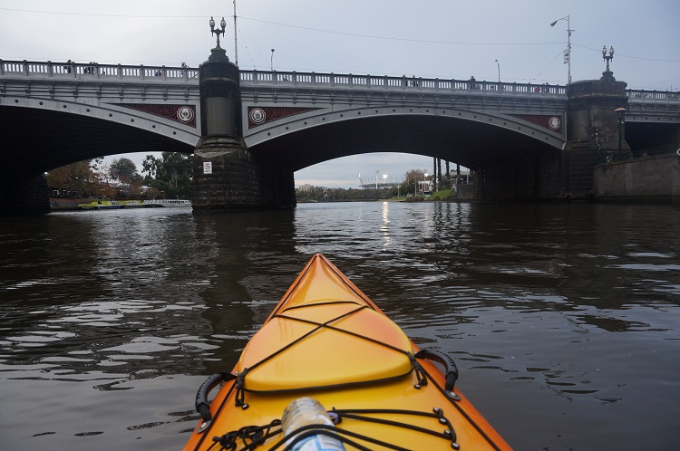 Melbourne Kayak Tours - Bridge Approach