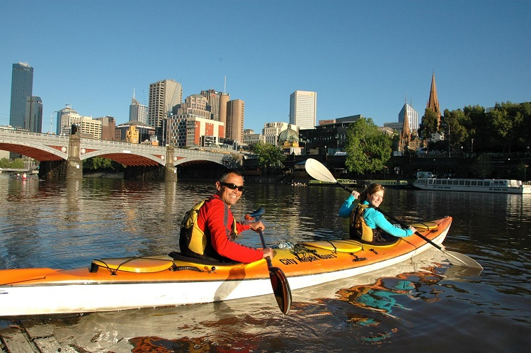 Melbourne Kayak Tours - City Sights