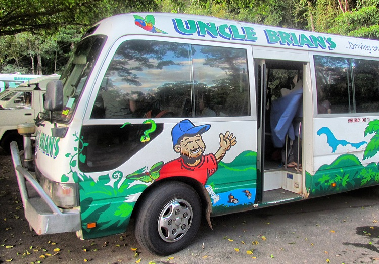Uncle Brian's Fun Falls and Forest - the Gus Bus