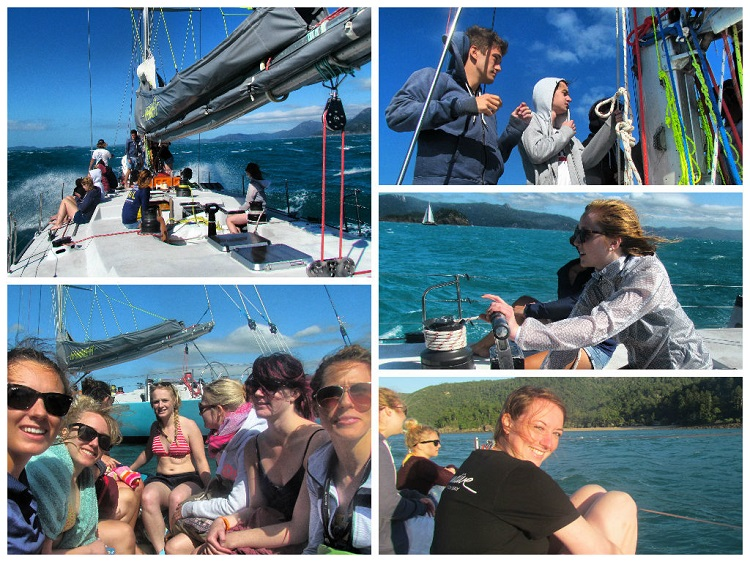 Sailing the Whitsundays - Learning to Sail