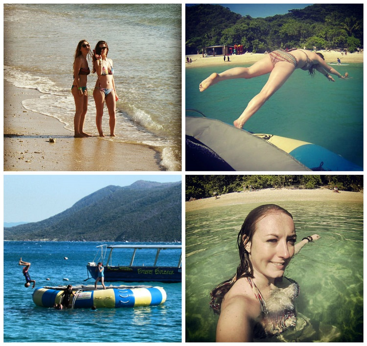 Day Trip to Fitzroy Island with Raging Thunder - Sea Trampoline