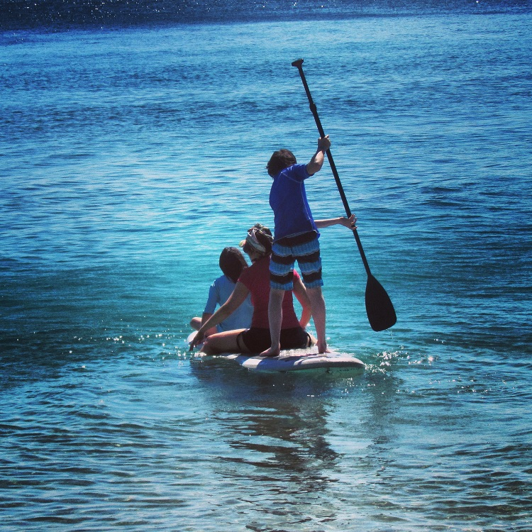 Day Trip to Fitzroy Island with Raging Thunder - Paddle Boarding