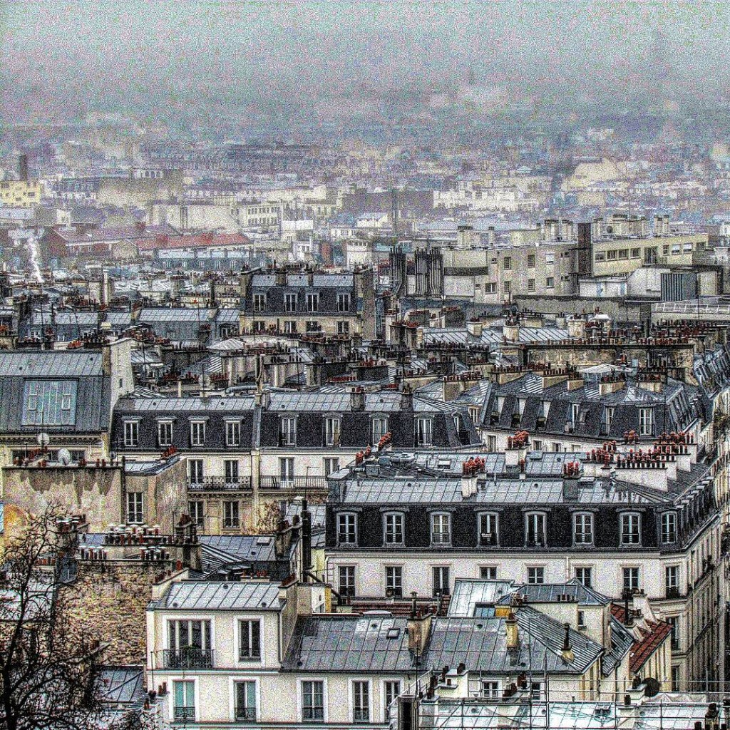 View from the Sacre Coeur in Paris travel travelling travelbloghellip