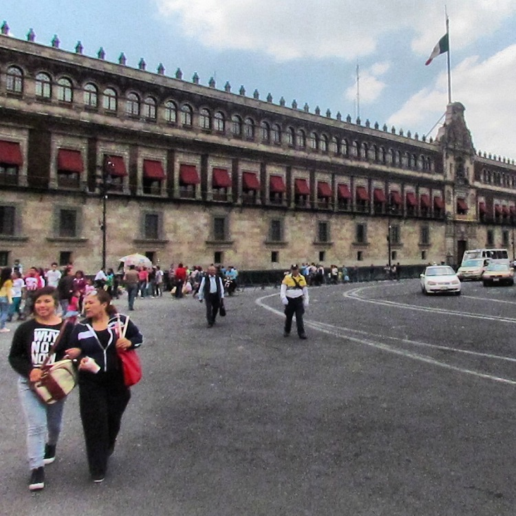 Things to do in Mexico City - National Palace