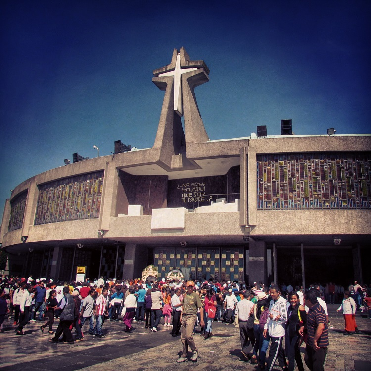 Thngs to do in Mexico City - Basilica of Our Lady Guadalupe
