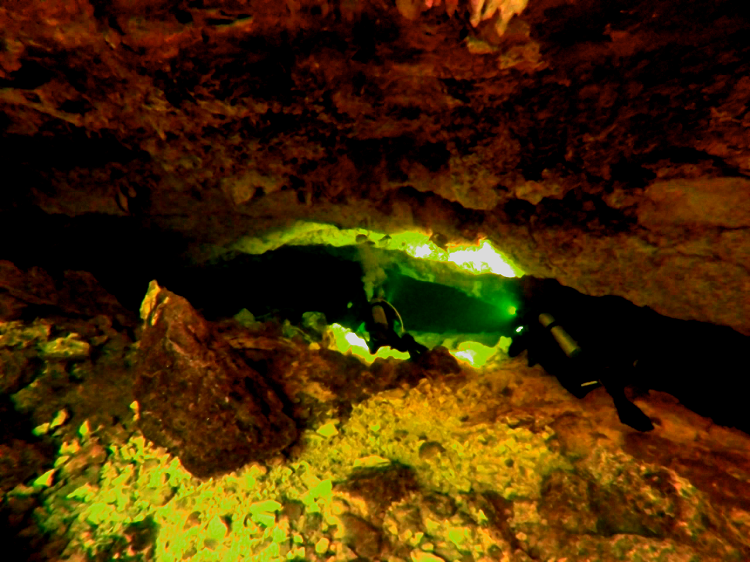 Save the Cenotes - Into a Cave