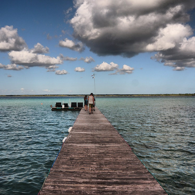 Laguna Bacalar - the Pier