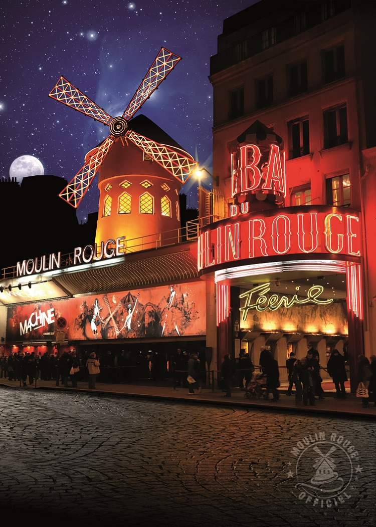 A Night at the Moulin Rouge - the Red Windmill