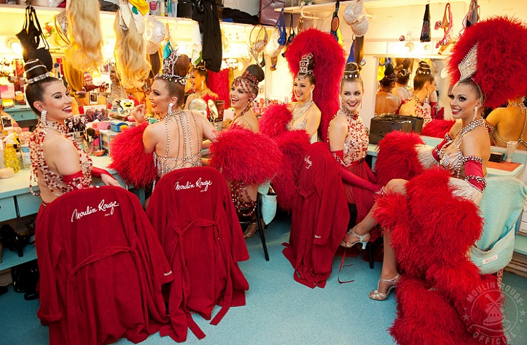 A Night at the Moulin Rouge - Dressing Room