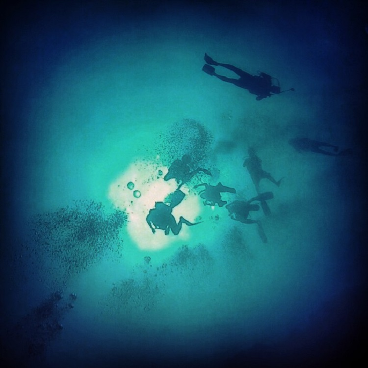 Diving the Great Blue Hole in Belize - From Below