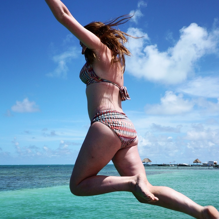 Visit Caye Caulker - Jump from the Pier
