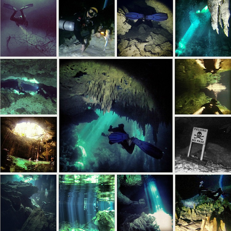 Best Dive Sites in Central America and Mexico - Cenotes in Mexico
