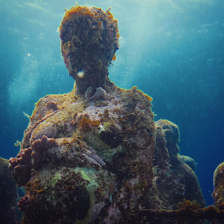 Best Dive Sites in Central America - Manchones Reef and MUSA Underwater Museum