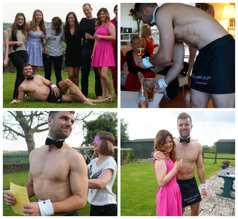 Hen Part in the Cotswolds - Butlers in the Buff