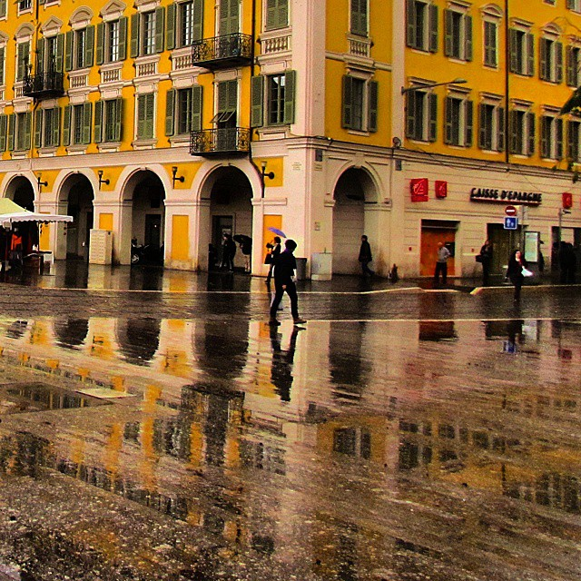 More yellow reflections! nice france francais lovetravel lovefrance travel travellinghellip