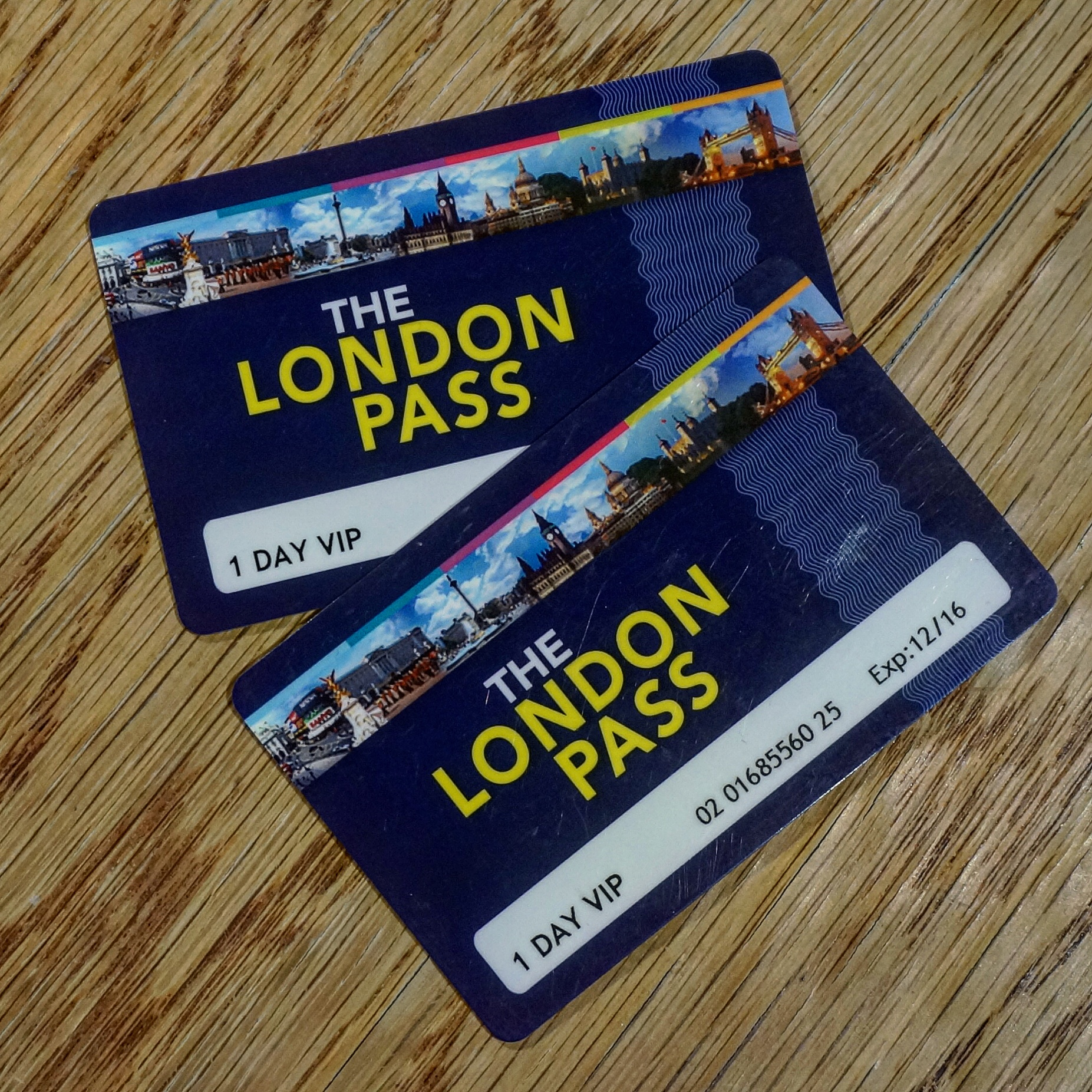 London Pass City Pass Cards