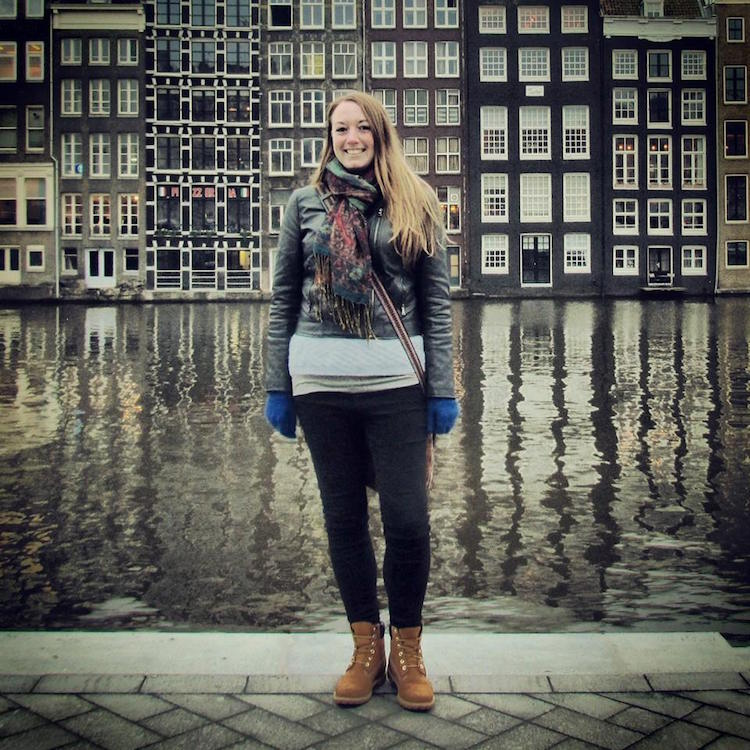 Weekend in Amsterdam - Tall, thin buildings