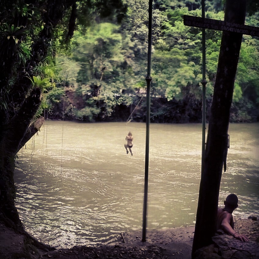 Semuc Champey, Guatemala - The Swing