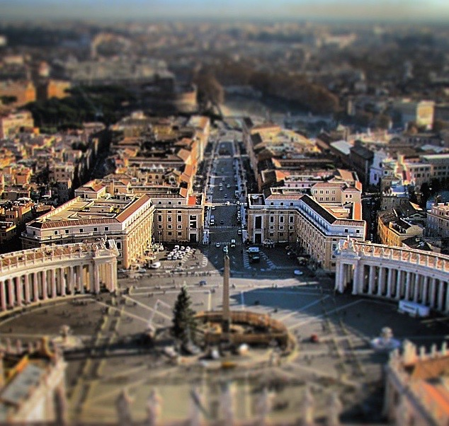 How to Spend a Day in Rome - View from the Done of St Peter's Basilica