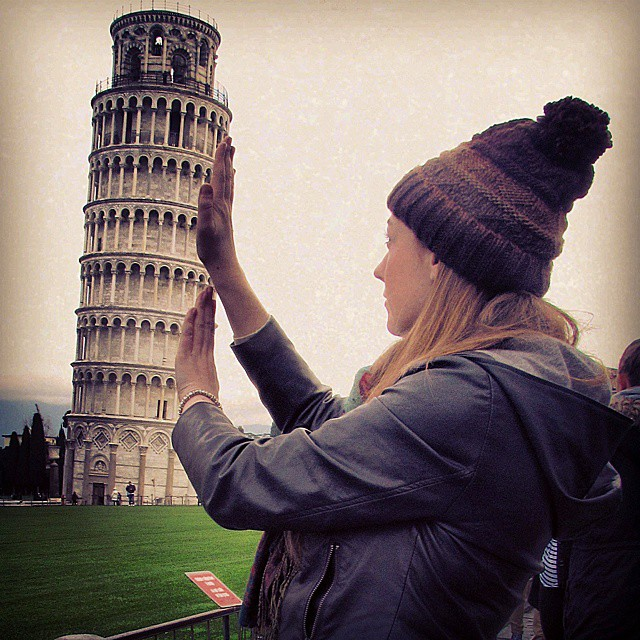 It had to be done pisa leaningtower leaningtowerofpisa italy italiahellip