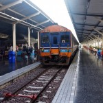 Catching the Train from Bangkok to Chiang Mai