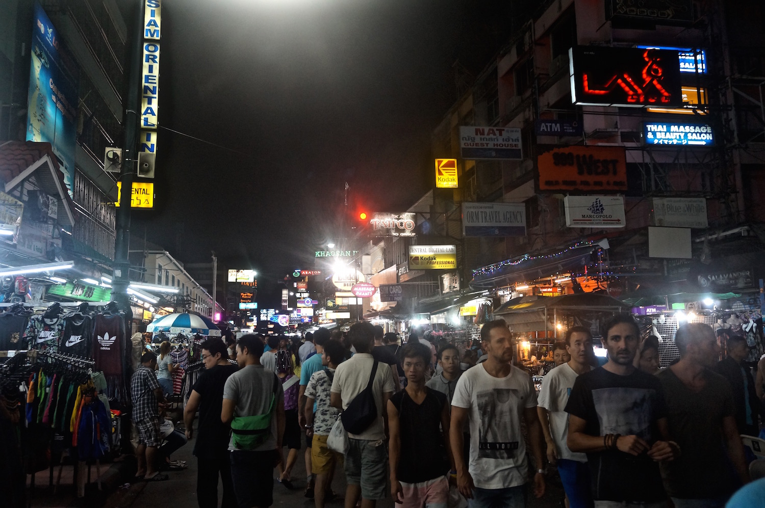 Tips on Visiting Bangkok - Khao San Road