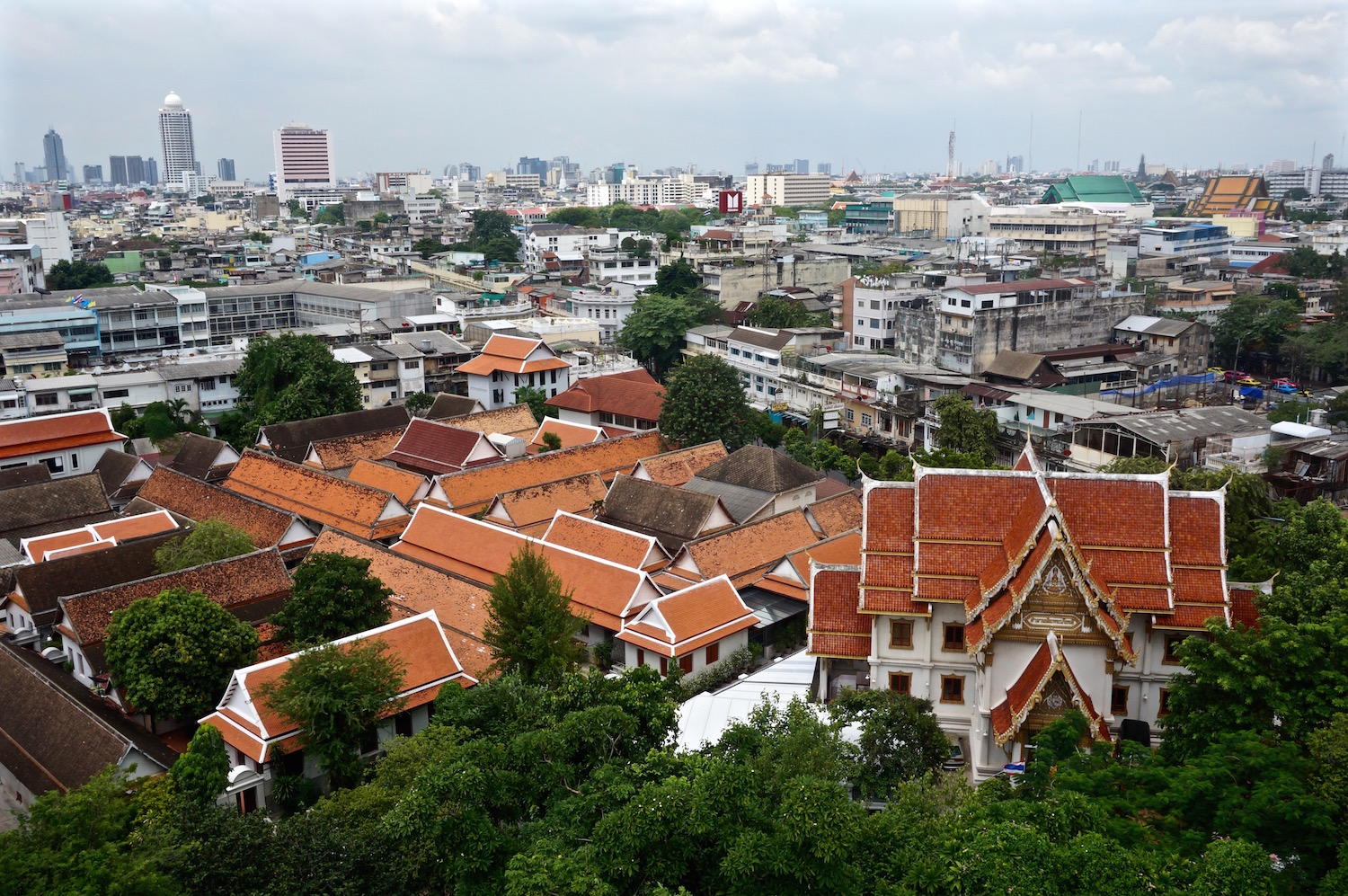 Bangkok Top 10 - Golden Mount Temple / Wat Saket