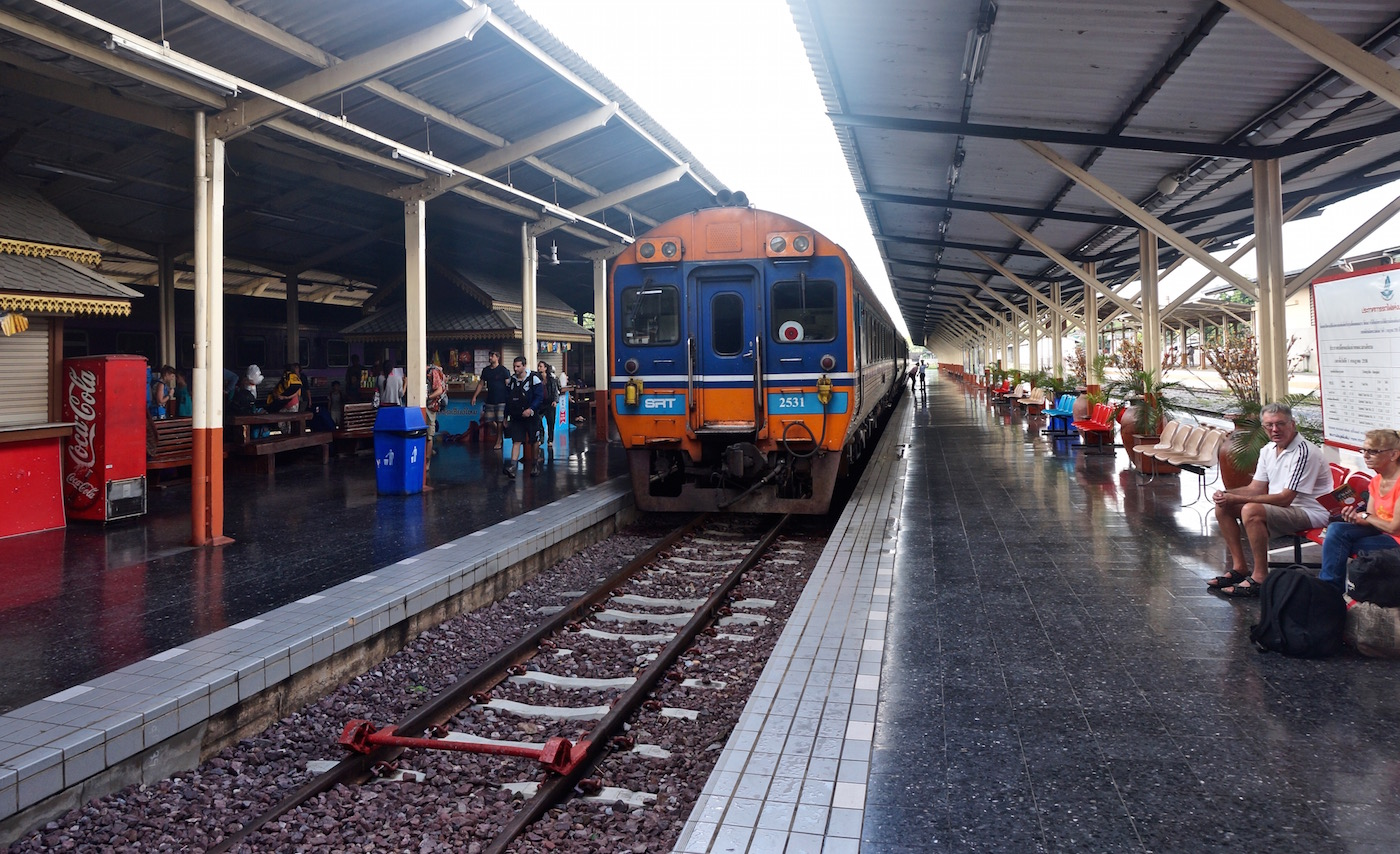 Taking the Train from Bangkok to Chiang Mai - Chiang Mai Station