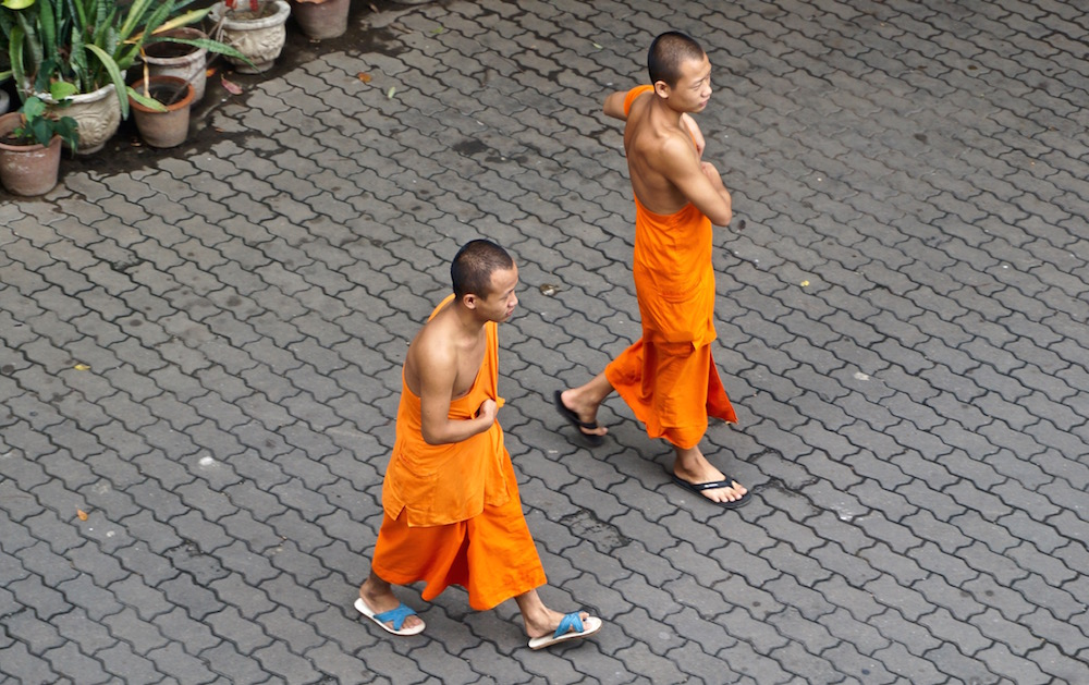 Visiting Chiang Mai - Buddhist Monks