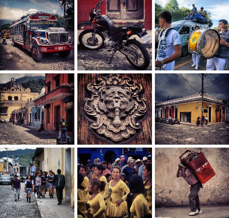 What to See in Antigua Guatemala - Street Life