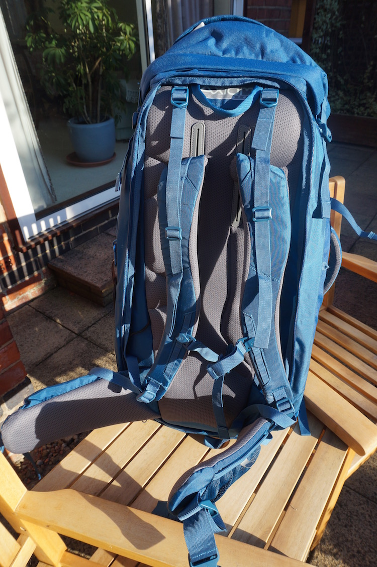 Best Travel Backpack for Long-Term Travel - Lowe Alpine AT Travel Trekker 70+30 - Nomad Travel - Axiom Back System