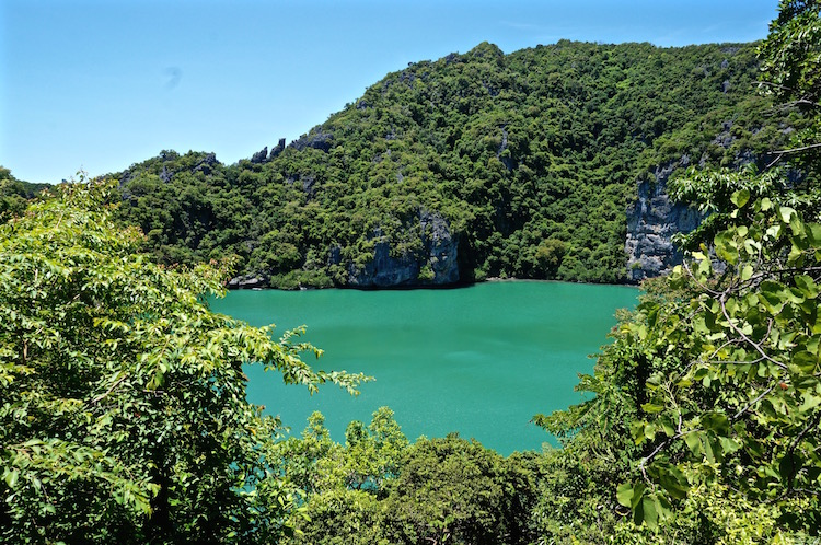 Ang Thong National Marine Park - Emerald Lake
